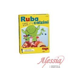 HABA - GIOCO CARTE RUBA CALZINI HABA