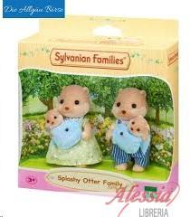 SYLVANIAN FAMILIES - FAMIGLIA LONTRE SJLVANIAN FAMILIES