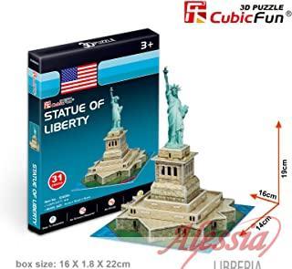 CUBIC FUN - PUZZLE IN 3D STATUA DELLA LIBERTA'. CUBIC FUN